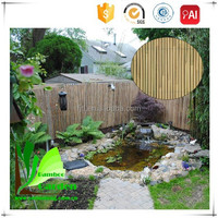 Factory Sale Natural Rolled Cheap Bamboo Fenceing and Ceiling Panels