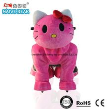 Hello kitty plush animal toy car,All Kinds of Children Electric toys