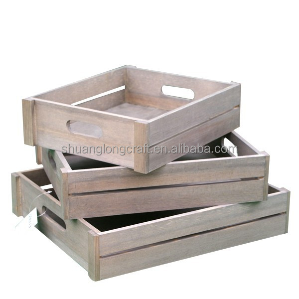 Cheap wooden storage crate wine crates for sale buy for Where to buy used wine crates
