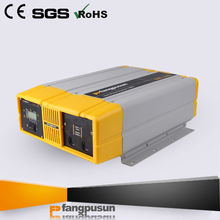Pure sine wave dc to ac power invert for solar panel with 12v 230V power inverter 1500w