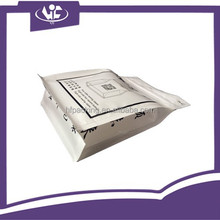 Custom Printed Quad-seal Flexible Plastic Packaging Bags with side bottom gusset Zipper Bag For Snack Food