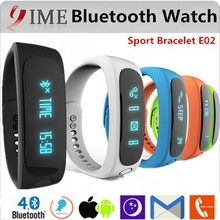 2015 new cheap Bluetooth Smart Watch, fashion health assistant standby E02 bluetooth bracelet watch, smart watch for phone