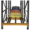 Steel structure warehouse drawings,Industrial automation storage racking quality push back racking