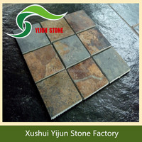 High Quality Rustic Mosaic Non-slip Natural Stone Swimming Pool Tiles