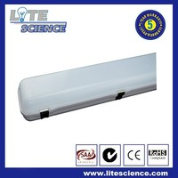 40W Ip65 Led Tube Fixture IP65 triproof light fitting with PC Housing and PC Cover 5 years warranty