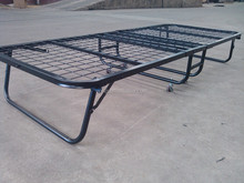 Mobile Steel Folding Bed With Mattress With Good Quality&Price