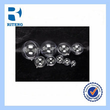 christmas decoration hollow round ball with designs plastic material