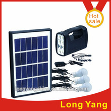 good 5W/9V solar power DC system solar energey light /AC Charger lighting