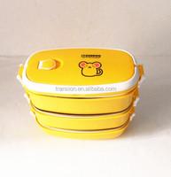 2014 Newest CCLB-008(3) Portable Keep warm fancy Lunch Box (Accept OEM)