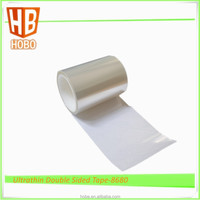 Ultrathin PET Double sided adhesive tape for bonding FPC with stiffeners 8680