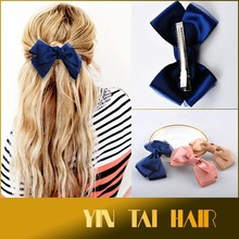 New Style Butterfly Hair Clips Hairpins for Women Hair Accessories Grosgrain Ribbon Bows Hair Jewelry Multi Colors