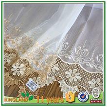 Al por mayor <span class=keywords><strong>de</strong></span> china bordado cortina escarpada