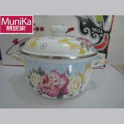 Induction Cooktop Cookwares / induction cook pot w/lid, Porcelain Enamel Cookware Set Reviews Sales