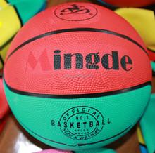 Contemporary hotsell rubber bouncing basketball