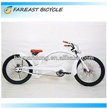 24'' Customized Cruiser 1 Herren Fahrrad Chopper bicycle Beach Cruiser Bike Single Speed Beach Cruiser Khaki Matt Men's Bike