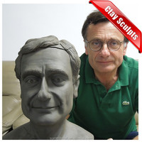 Imitation hand sclupting resin custom clay Sculpture models