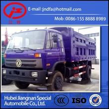 10 ton camión volquete EURO III emisión Dongfeng solo puente 210 caballos de fuerza 15 toneladas de diesel volquete EQ3126KB3G1