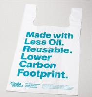 Biodegradable plastic bags t shirt bag