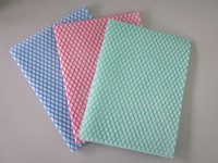 Disposable High quality non-woven cleaning Dishcloth Fabric