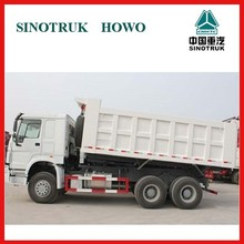 price for China howo 10 tires tipper trucks for sale