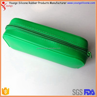 2015 new cheap customized wholesale silicone pencil bag