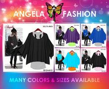 Blouse-0001 Angela blusa de las señoras T-shirt Wholesale listo para enviar Además Tamaño de la ropa