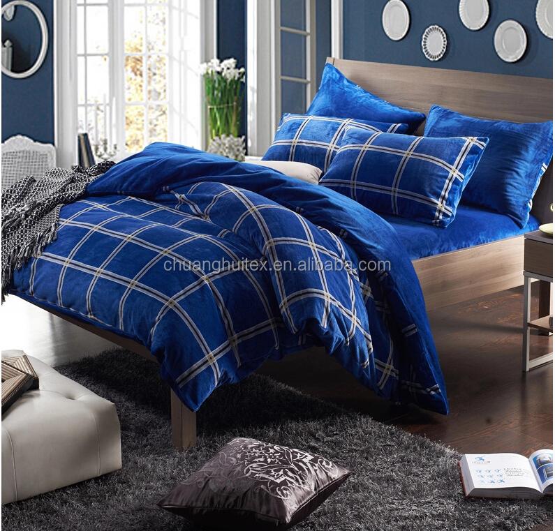2015 New Product Super Soft Velvet Two Sides Comforter