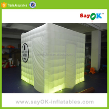 foldable inflatable led wedding photo booth tent price led photo booth