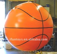 2012 basketball inflatable helium balloon