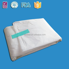 280mm low price woven pad/cheap sanitary napkin manufacturer