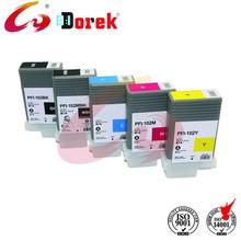 Ink cartridge pfi-102 for canon iPF 500/600/605/610/700/710/720