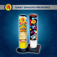 Magical Barrage 100 Shots Chinese Wholesale Roman Candle Christmas Cracker New Products 2015