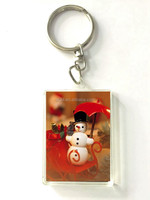high quality 3d lenticular keychain for kids for christmas giftware