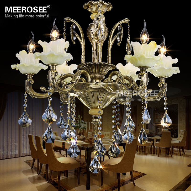 Antique chandeliers for sale bronze vintage crystal chandelier for home decor md81241 l6 buy - Chandeliers on sale online ...