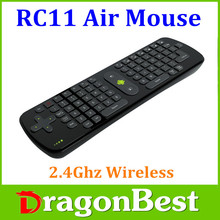RC11 2.4GHz wireless Keyboard Mini PC for Google android TV Box
