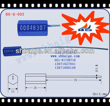 Security Sealing Solutions BG-G-002