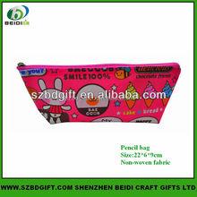 Personalized cute fabric pencil case