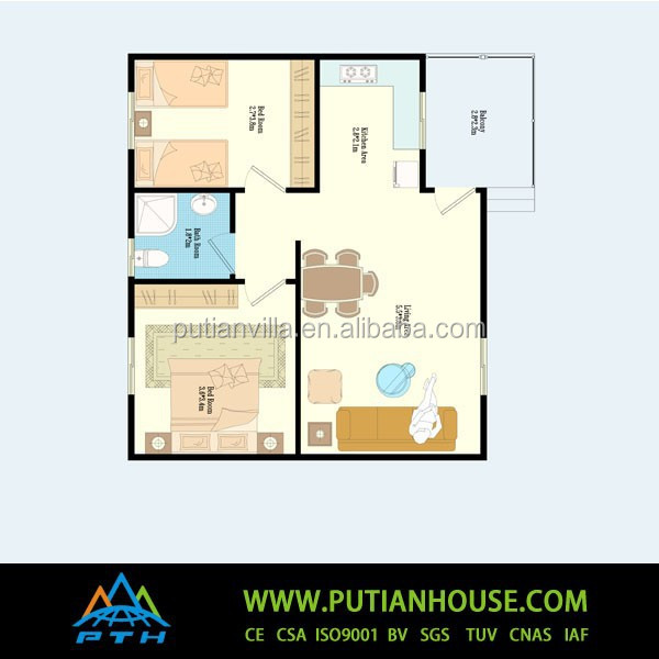 Prefabricated Steel Frame House Design Plans Buy Light Steel Frame House Two Bedrooms Light