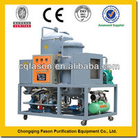 High voltage centrifugal oil cleaning system
