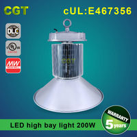 Commercial Light LED high bay light high bay luminairs 200W with UL DLC approved IP65 SAMSUNG chip Meanwell driver
