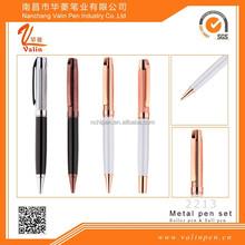 Top selection,Factoyr supply rose gold pen,coffee pen,silver pen