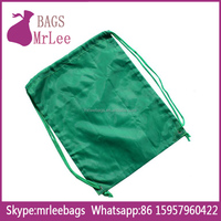 Custom Blank drawstring 210T recycled polyester bag backpack pouch