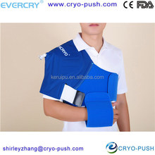 health supplies physical therapy equipment with comfortable hot cold wrap for shoulder
