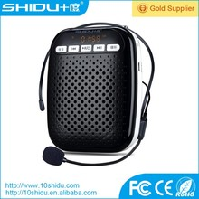 Professional 20meter wireless megaphone portable multimedia dual core amplifier with wireless microphone