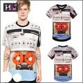 Hotsale 2015 lotes de ações de impressão t- shirt arizona para a mulher