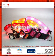 2015 High Quality wholesale flashing Led Dog Collars