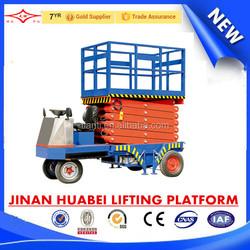 SJPT-ZX China high working performance self propelled scissor lift platform