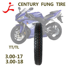 excellent quality motorcycle chopper tyre/tire 3.00-18TT/TL