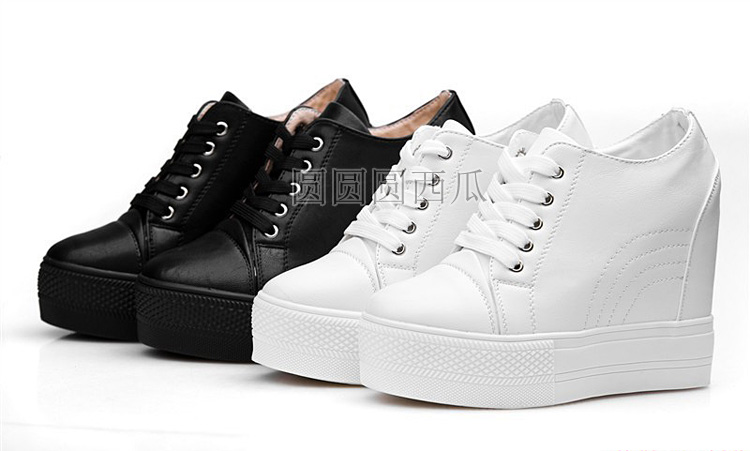 wedge high heels 10cm women shoes height platform shoes woman ankle boots ebay. Black Bedroom Furniture Sets. Home Design Ideas