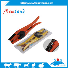 2015 hot sales new type cattle sheep animal ear tag applicator